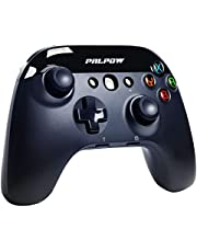 PalPow Wireless Pro Controller for Switch/Switch Lite, Rechargeable Remote Joypad Gamepad Support Adjustable Turbo, Dual Shock and Gyro Axis(Black)