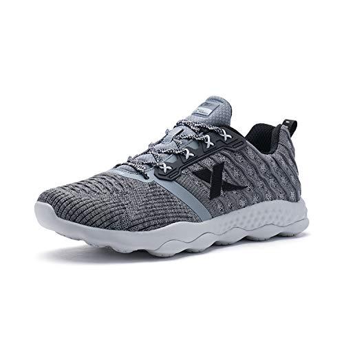 ウミウシ失われたXtep ランニングシューズ 陸上競技 2e スポーツシューズ マラソンに対応 通気性良い 超軽量 運動靴