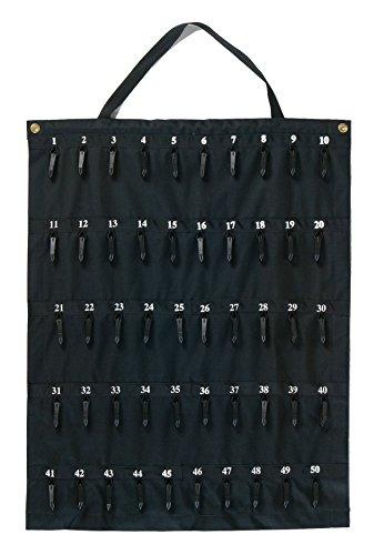 - Rollable Key Case, Roll Up Key Organizer, Roll Up Key Case, Flexible Durable Vinyl, 50 Keys