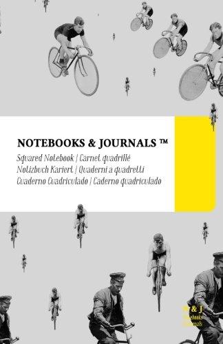 Quaderni a Quadretti Notebooks & Journals, Biciclette (Vintage Collection), Large: Soft Cover (13.97 x 21.59 cm)(Taccuino appunti,Taccuino di viaggio) (Italian Edition)