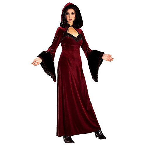 Deluxe Gothic Mistress Sexy Costumes (Deluxe Burgundy Gothic Lady Adult Costume - Medium)