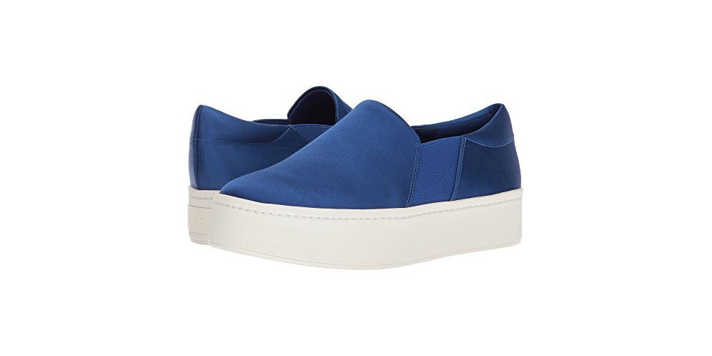 Vince Women's Warren Sneaker Shoes (6 B(M) US, Blueberry)