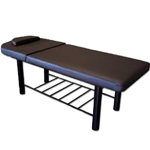 Duty Spa (Heavy Black Reiki Massage Table Salon Spa Tattoo Padded Flat Duty Therapy)