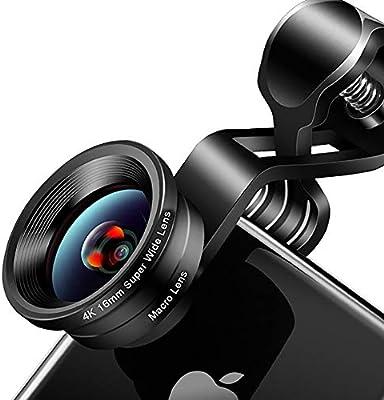 ZYHA 2 en 1 Teléfono Kit de Lentes para cámaras Objetivo Gran ...