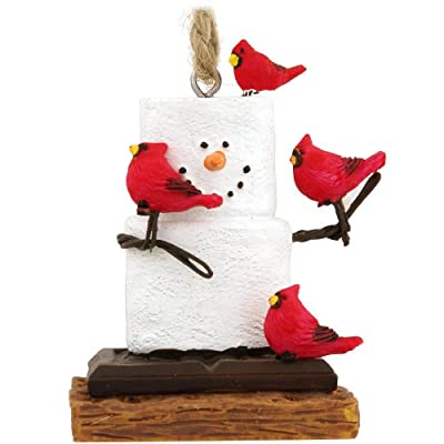 Midwest CBK S'Mores With Cardinals Christmas Ornament