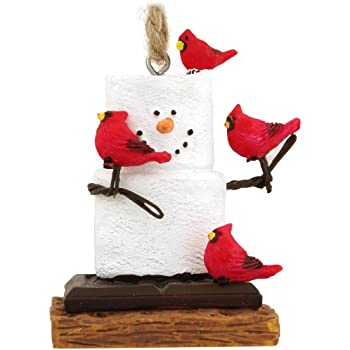 Amazon.com: Midwest CBK S'Mores With Cardinals Christmas Ornament ...