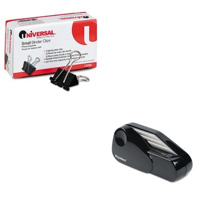 KITPRE1624UNV10200 - Value Kit - Martin Yale Model 1624 Handheld Battery Operated Letter Opener (PRE1624) and Universal Small Binder Clips (Battery Operated Envelope Opener)