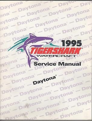 - 1995 ARCTIC CAT TIGERSHARK WATERCRAFT DAYTONA P/N 2255-288 SERVICE MANUAL (647)