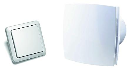 Ventola di scarico dal design intramontabile con telecomando