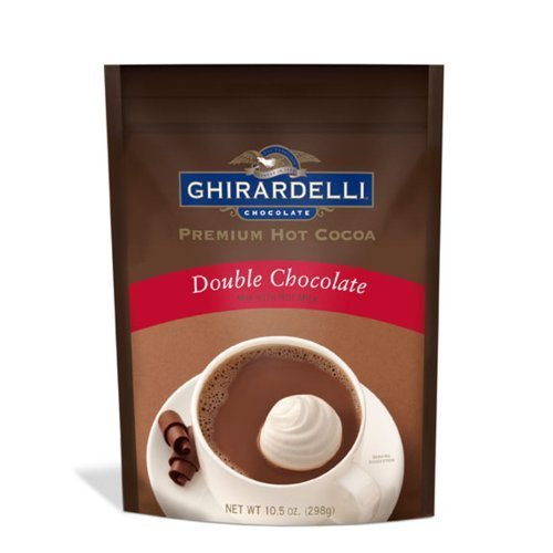 Ghirardelli Hot Cocoa Mix Double Chocolate Bag 10.5Oz - Shipping Economy Usps