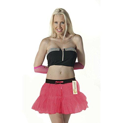 unique Femme fluorescent taille Generic Jupe rose qt44TX