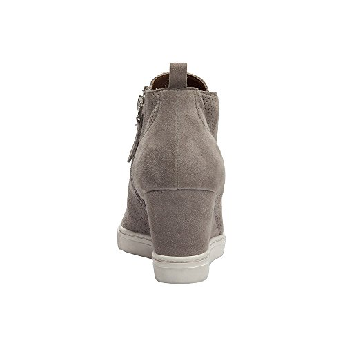 Perforated Suede Rock Or Suede Leather Felicia Platform Wedge Bootie Women's Sneaker nzwgPAx