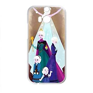 Frozen Princess Elsa and Anna Cell Phone Case for HTC One M8