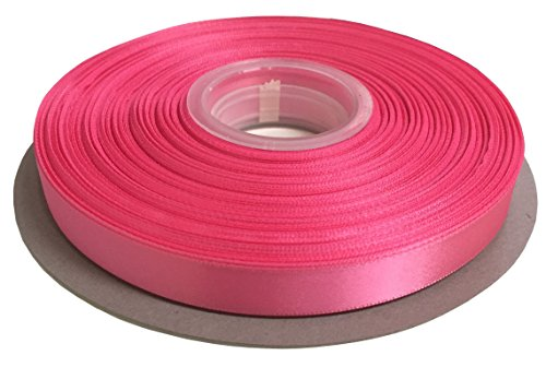 Duoqu 1/4 inch Wide Double Face Satin Ribbon 50 Yards Hot ()