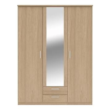 Chambre A Coucher Armoires Havnyt Bronte Miroir 2 Portes
