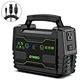 ENKEEO Portable Power Station, 155Wh Lithium Backup Battery Pack 110V 100W Solar...