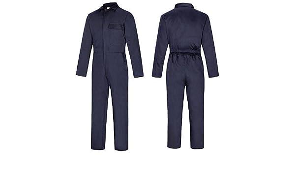 Lakeland - Mono de trabajo para soldadura, protector contra llamas y soldadura en arco, tamaño completo, 80% algodón, 20% poliéster azul azul XXL: ...