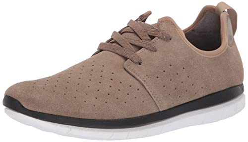 Kenneth Cole REACTION Men's ReadyFlex Sport Sneaker B With A Flexible Outsole Shoe, Taupe, 10.5 M US