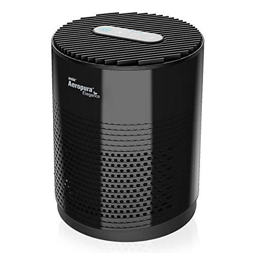 🥇 ANSIO Purificador de Aire con Filtro de carbón Activado HEPA Verdadero CADR 68 m³ / h para hogar