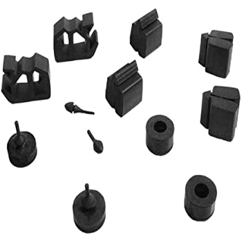 Metro Moulded Parts SBK 2323 21-Piece Snap-In Bumper Kit