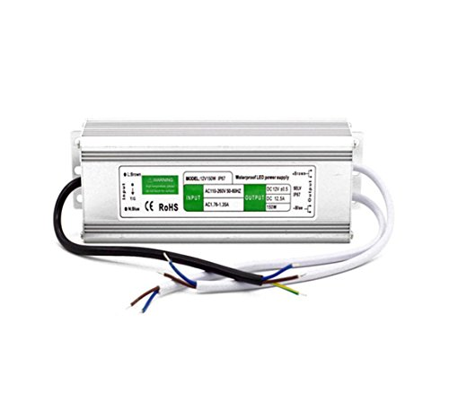 LianShi IP67 Waterproof Switching Power Supply Regulated Transformer Short Circuit and Overcurrent Protection AC100-260V DC12V 0.83A-25A 10W-305W