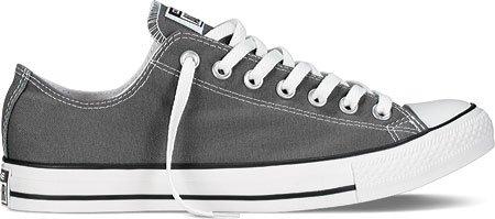 Converse Chuck Taylor All Star - Zapatos de lona, unisex Grau/Charcoal