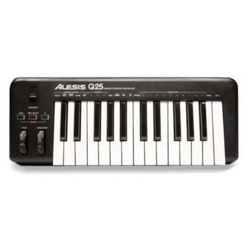 Alesis Q25 25-Key Keyboard Midi Controller by Alesis