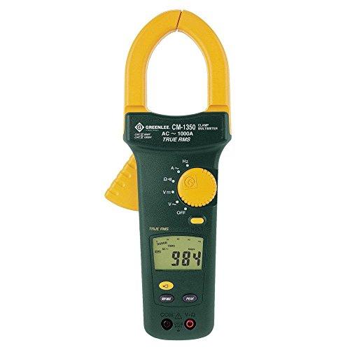 Greenlee CM-1350 True RMS Clamp Meter, 1000 Amp