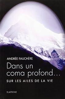 Dans un coma profond... : sur les ailes de la vie, Fauchère, Andrée