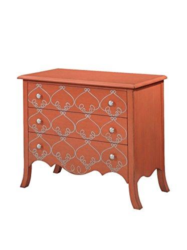 (Bassett Mirror L'Orangerie Chest, Tangerine)