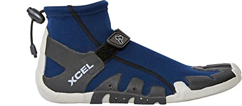 (Xcel Infiniti Split Toe Reef Boots, Ink Blue, Size 11/1mm)