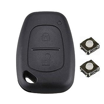 DON LLAVE® AMDLRE09F - Kit de reparación: Carcasa de 2 botones + 2 Pulsadores (Modelos en el interior)