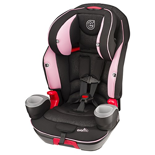 Evenflo Evolve 3-in-1 Combination Seat, Pink Daisies