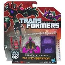 Transformers Generations Fall of Cybertron Action Figure 2-Pack - Ratbat & Decepticon Frenzy