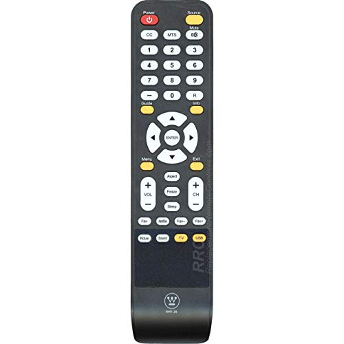 Westinghouse RMT-25 TV Remote Control Compatible with Westinghouse LCD LED TVs: DW32H3D1