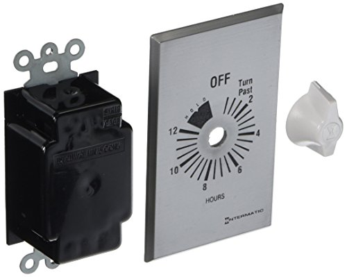Intermatic FF12HHC Timer, Brushed Metal Finish (Paint For Swimming Pool Walls And Ceilings)