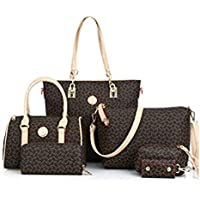 6 Pieces Set Women Handbag Fashion Tote Crossbody Bag Ladies Shoulder Messenger Bag for women K655