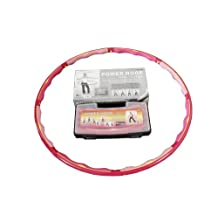 Weight Loss Sports Hoop® Series: Power Hoop® 4C - 3.6lb (1.6kg) Large, Weighted Fitness Exercise Hula Hoop(with carrying case)