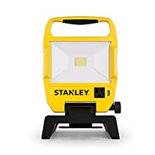 Stanley 3500-Lumen LED Work Light Provides Ample Lighting with its Long-lasting Integrated LED 4000K 39W Outdoor Lighting