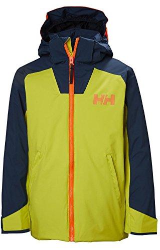 Helly Hansen Jr Waterproof Twister Ski Jacket, Sweet Lime, Size 8