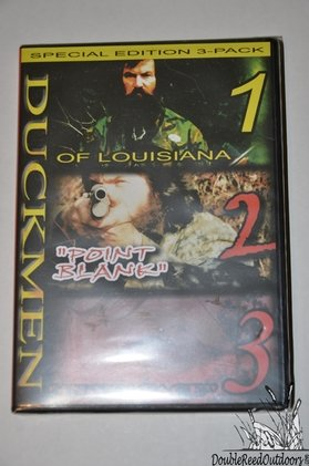 DUCK COMMANDER Duckmen Hunting DVD's Duck Men Masters of the Duck Call