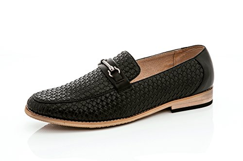 Shoes Cut Adolfo Low On Vanucci Textured Driving Men's Slip Black Loafers Driving Karl Justin 10 Franco zqnRHxSwqf