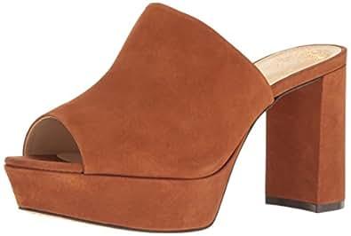 e2defd37f06 Vince Camuto Women s Basilia Platform Dress Sandal Maple Brown 9 M US