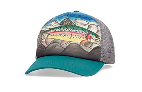 (Sunday Afternoons Kids Northwest Trucker Hat, Rainbow Trout, One Size)