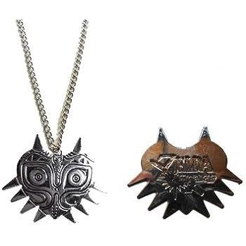 Zelda Majoras Mask Necklace
