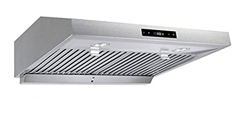 Vesta 860CFM Powerful 6 Speed Under Cabinet Range Hood 30