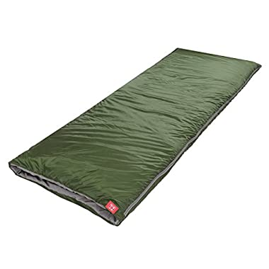 Naturehike Outdoor Envelope Ultra-light Sleeping Bag for Camping Travel Hiking (Army green)