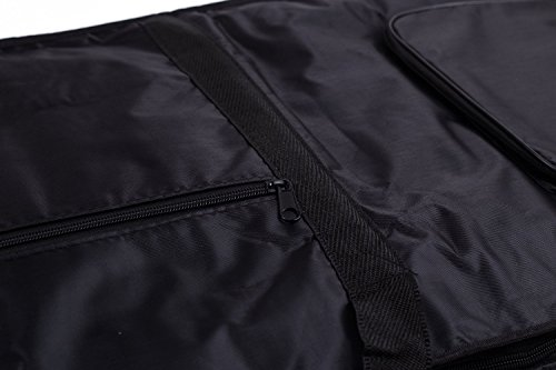 Tosnail 61-note Keyboard Gig Bag Piano Case Padded with 6mm Cotton 61 Note Keyboard 39 x 16 x 6
