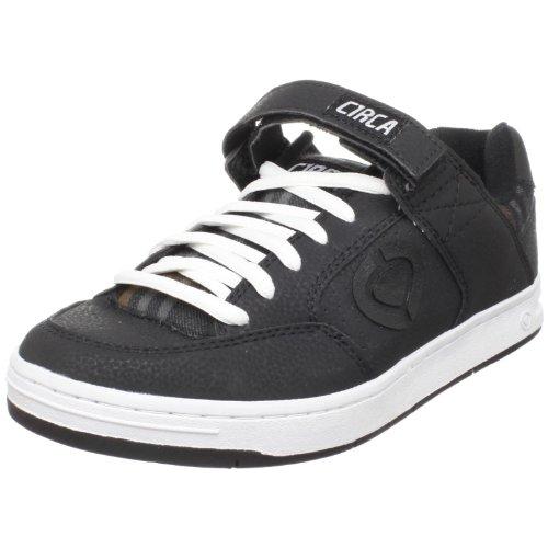 C1RCA Men's 205 Skate Shoe,Black/Black Oak Plaid,7 M US (Skateboard Oak Shoe)