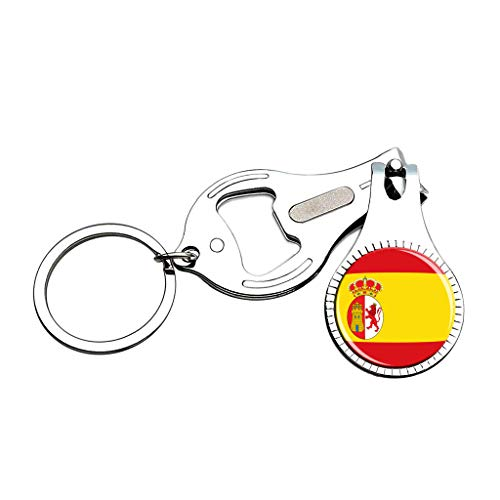 Philippines National Flag Nail Clipper Bottle Opener Keychain Creative Crystal Stainless Steel Multifunction Souvenirs Gifts
